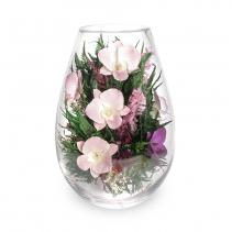Орхидеи в вазе большая капля 43-055