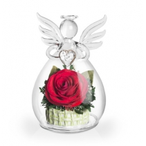 Ангел с красной розой 43-123