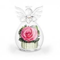 Ангел с розовой розой 43-130
