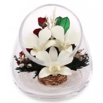 Орхидеи с розами APSM2