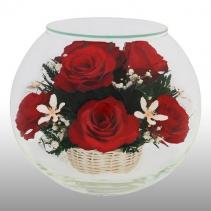 Композиция из красных роз BMR1