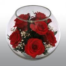 Композиция из натуральных роз BMR13/BMR2