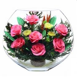 розовые розы EMRp-02
