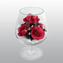 Композиция из розовых роз GMRp (GCRp)