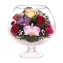 Цветы в большом бокале GJM1