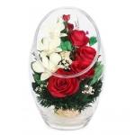 Композиция из роз и орхидей ARMM1