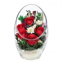 Композиция из роз и орхидей ARMR1