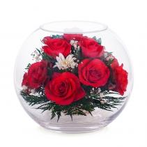 Яркие розы в шаре BNR