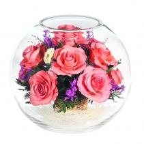 Розовые розы BNRp