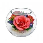 Композиция из розовых роз BSRp