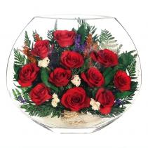 Одиннадцать красных роз EMR-05