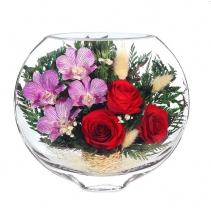 Розы и орхидеи ESM-01