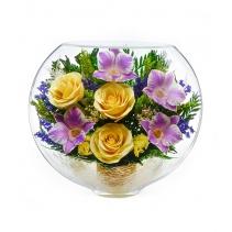 Смесь орхидей и розочек ESM-09