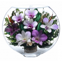 Композиция из  орхидей ESO-06
