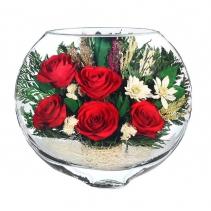 Алые розы ESR