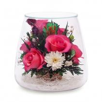 Розовые розы  POMRp