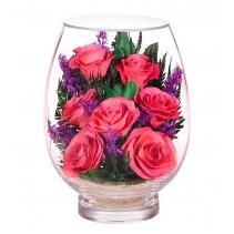 Розы с фиолетовыми ветками VSRp